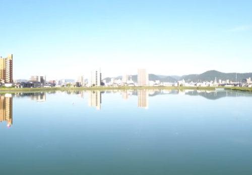 ドローン撮影 木太ゴルフセンター